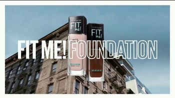 Maybelline Fit Me! Matte + Poreless TV Spot, 'Blurs Pores, Stops Shine' - Thumbnail 1
