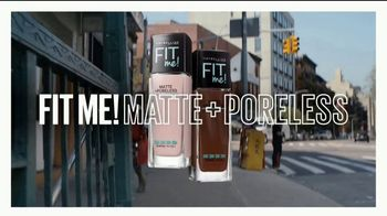 Maybelline Fit Me! Matte + Poreless TV Spot, 'Blurs Pores, Stops Shine' - Thumbnail 10