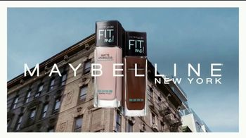 Maybelline Fit Me! Matte + Poreless TV Spot, 'Blurs Pores, Stops Shine' - Thumbnail 2