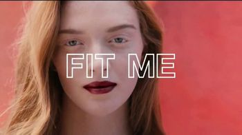 Maybelline Fit Me! Matte + Poreless TV Spot, 'Blurs Pores, Stops Shine' - Thumbnail 8