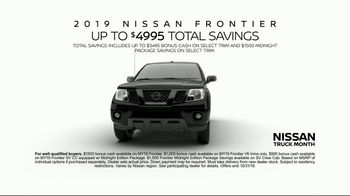 Nissan Truck Month TV Spot, 'Quality Time' [T2] - Thumbnail 8