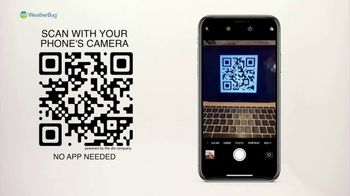 WeatherBug TV Spot, 'QR Code: First Thing'