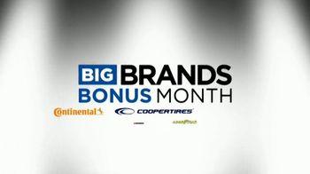 National Tire & Battery Big Brands Bonus Month TV Spot, 'Coopertires Rebate and Oil Change' - Thumbnail 2