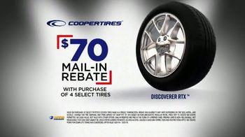 National Tire & Battery Big Brands Bonus Month TV Spot, 'Coopertires Rebate and Oil Change' - Thumbnail 4