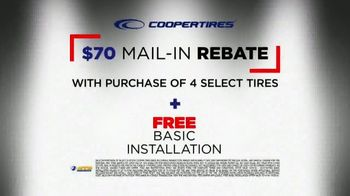 National Tire & Battery Big Brands Bonus Month TV Spot, 'Coopertires Rebate and Oil Change' - Thumbnail 7