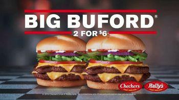 Checkers & Rally's Big Buford Two for $6 TV Spot, 'This Is Real: Déjà Vu' - Thumbnail 4