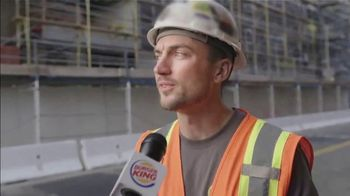 Burger King Impossible Whopper TV Spot, 'Uber Eats: Construction Workers' - Thumbnail 2