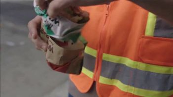 Burger King Impossible Whopper TV Spot, 'Uber Eats: Construction Workers' - Thumbnail 6