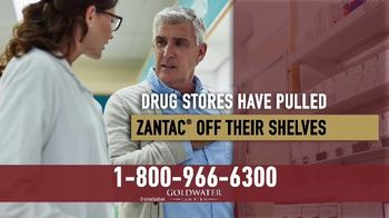 Goldwater Law Firm TV Spot, 'Daily Zantac Users'