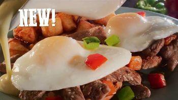 Bob Evans TV Spot, 'We Love Steak: Steak Omelette and Bacon Bourbon-Glazed Sirloin' - Thumbnail 4