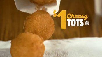 Burger King Snacking & Saving Menu TV Spot, 'Cheesy Tots or Crispy Taco' - Thumbnail 1