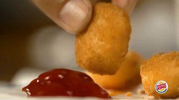 Burger King Snacking & Saving Menu TV Spot, 'Cheesy Tots or Crispy Taco' - Thumbnail 3