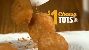 Burger King Snacking & Saving Menu TV Spot, 'Cheesy Tots or Crispy Taco'