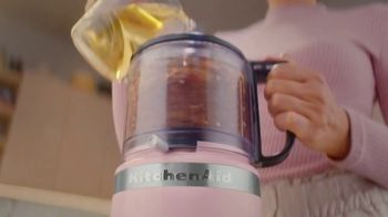 KitchenAid Food Processor Collection TV Spot, 'Maker: Do the Impossible' - Thumbnail 5