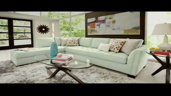 Rooms to Go Cindy Crawford Colors Collection TV Spot, 'Toque de color: hasta Columbus Day' [Spanish] - Thumbnail 2
