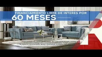 Rooms to Go Cindy Crawford Colors Collection TV Spot, 'Toque de color: hasta Columbus Day' [Spanish] - Thumbnail 3