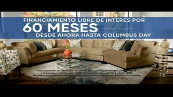 Rooms to Go Cindy Crawford Colors Collection TV Spot, 'Toque de color: hasta Columbus Day' [Spanish] - Thumbnail 6