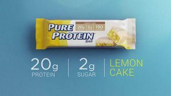 Pure Protein Lemon Cake TV Spot, 'Make Fitness Routine' - Thumbnail 8