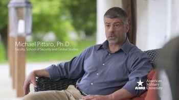 American Military University TV Spot, 'Faculty Spotlight: Dr. Michael Pittaro'