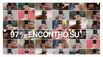 Maybelline New York Fit Me! Matte + Poreless Foundation TV Spot, 'Se adapta' [Spanish] - Thumbnail 7