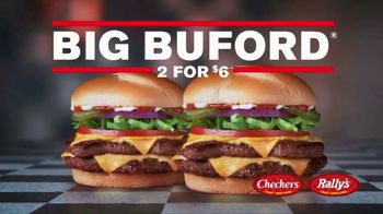 Checkers & Rally's Big Buford Two for $6 TV Spot, 'This Is Real' - Thumbnail 6