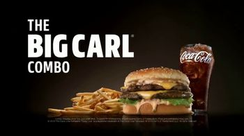 Carl's Jr. Big Carl Combo TV Spot, 'Cheese Hound'