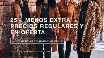 Macy's Evento de Celebración al Cliente TV Spot, 'Ropa de otoño' [Spanish] - Thumbnail 3