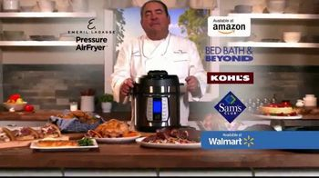 Emeril Lagasse Pressure AirFryer TV Spot, 'Like Having Emeril in Your Kitchen' - Thumbnail 8
