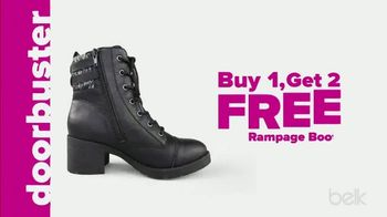 Belk Days TV Spot, 'Rampage Boots and Luggage' - Thumbnail 3