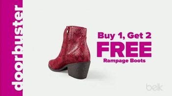 Belk Days TV Spot, 'Rampage Boots and Luggage' - Thumbnail 4