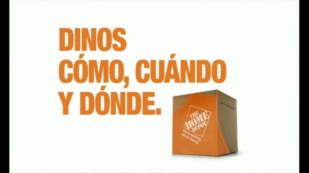 The Home Depot Tv Commercial Entrega Urgente El Mismo