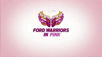 Ford Warriors in Pink TV Spot, 'Embody Hope Hoodie' Featuring Daniela Ruah - Thumbnail 7
