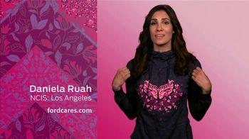 Ford Warriors in Pink TV Spot, 'Embody Hope Hoodie' Featuring Daniela Ruah - Thumbnail 3