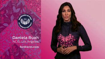 Ford Warriors in Pink TV Spot, 'Embody Hope Hoodie' Featuring Daniela Ruah - Thumbnail 5