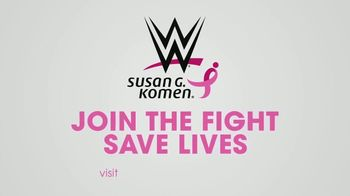 Susan G. Komen for the Cure TV Spot, 'WWE: We've Joined' Featuring Becky Lynch, Sasha Banks, Bayley - Thumbnail 9