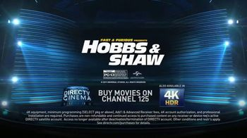 DIRECTV Cinema TV Spot, 'Fast & Furious Presents: Hobbs & Shaw' - Thumbnail 10