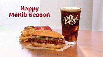 McDonald's McRib TV Spot, 'Happy McRib Season' - Thumbnail 10