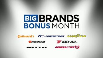 Tire Kingdom Big Brands Bonus Month TV Spot, 'Coopertires Rebate and Free Installation' - Thumbnail 2
