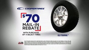 Tire Kingdom Big Brands Bonus Month TV Spot, 'Coopertires Rebate and Free Installation' - Thumbnail 5