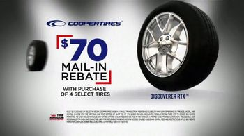 Tire Kingdom Big Brands Bonus Month TV Spot, 'Coopertires Rebate and Free Installation' - Thumbnail 6