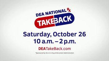 US Drug Enforcement Administration (DEA) TV Spot, 'DEA Takeback Day: Could End Up Misused'