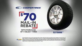 National Tire & Battery Big Brands Bonus Month TV Spot, 'Coopertires Rebate'
