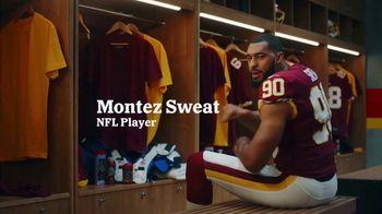 Old Spice Sweat Defense TV Spot, 'Montez Strikes Back' Featuring Montez Sweat - Thumbnail 2