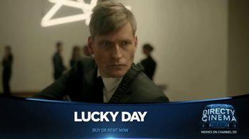DIRECTV Cinema TV Spot, 'Lucky Day' - Thumbnail 1