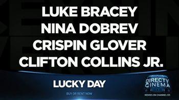 DIRECTV Cinema TV Spot, 'Lucky Day' - Thumbnail 7