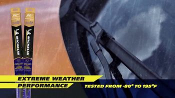 Michelin Endurance XT Silicone Wiper Blades TV Spot, 'Extreme Weather Performance'