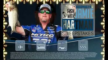 Bassmaster Sweepstakes TV Spot, 'Fishing Trip: Jamie Hartman' - Thumbnail 3