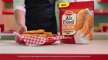 Tyson Air Fried Chicken Strips TV Spot, 'Step Right Up' - Thumbnail 3