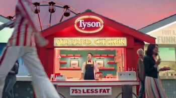 Tyson Air Fried Chicken Strips TV Spot, 'Step Right Up'