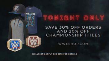 WWE Shop TV Spot, 'Make an Entrance: 30 Percent Off Order & 20 Percent Off Titles' Featuring Roman Reigns - Thumbnail 10